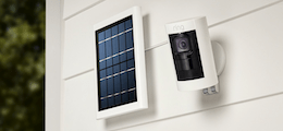 Ring Spotlight / Stick Up Cam Solar Installation